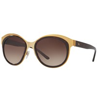 Ralph Lauren Rl7051 Oval Sunglasses Gold Dark Tortoise
