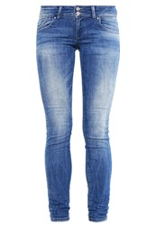 Ltb Molly Slim Fit Jeans Mois Wash Blue Denim