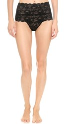 Cosabella Never Say Never High Rise Thong Black