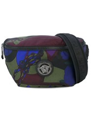 Versace Camo Bum Bag Men Nylon One Size