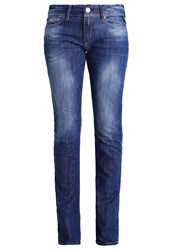 Replay Luz Bootcut Jeans Mid Wash Blue Denim