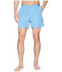 Fred Perry Bomber Tape Swimshorts Utility Blue Swimwear