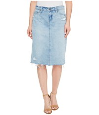 Blank Nyc 28Z 7063 In Big Reveal Big Reveal Women's Skirt Blue