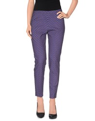 Michelle Windheuser Trousers Casual Trousers Women Dark Purple