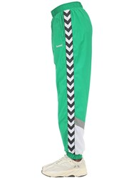 Hummel Christian Woven Pants Green