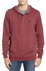 Rvca Lupo Pullover Hoodie Bordeaux
