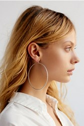 Free People Womens Glitter Bomb Hoops