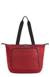 Men's Briggs And Riley 'Transcend' Tote Red 19 Inch Crimson Red