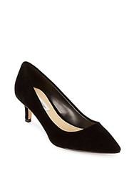 Saks Fifth Avenue Gracie Slip On Pumps Black Velvet