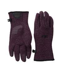 Outdoor Research Flurry Gloves Pinot Extreme Cold Weather Gloves Red