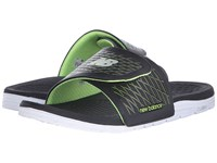 New Balance Cush Slide Black Lime Men's Sandals