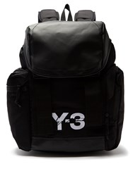 257ae4d566 Y 3 Logo Print Backpack Black