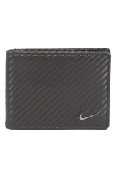 Nike Leather Money Clip Wallet