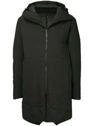 Attachment Padded Mid Length Coat Black
