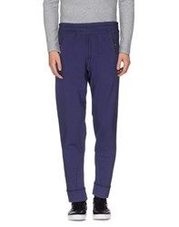 Paolo Pecora Trousers Casual Trousers Men Purple