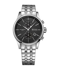 Hugo Boss Stainless Steel Two Eye Flyback Chronograph 1513383 Silver