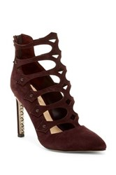 Fergie Holly Strappy Caged Pump Purple
