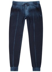 Cotton Citizen Cobain Dark Blue Terry Jogging Trousers Navy