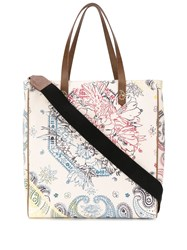 Golden Goose Bandana Canvas Tote 60