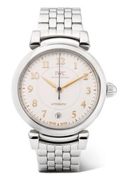 Iwc Schaffhausen Da Vinci Automatic 36Mm Stainless Steel Watch Silver