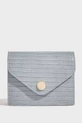 Paul And Joe Ode Mini Flap Over Bag Blue