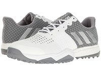 Adidas Adipower S Boost 3 Ftwr White Silver Metallic Light Onix Men's Golf Shoes