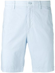 Burberry Poplin Chino Shorts Men Cotton 32 Blue