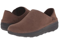 Fitflop Superloafer Nubuck Chocolate Brown Women's Clog Shoes