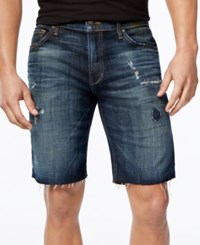 Joe's Jeans Joe's Men's Sandro Cutoff Jean Shorts Dark Blue
