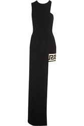 Versus Anthony Vaccarello Asymmetric Jersey Maxi Dress
