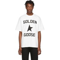 Golden Goose White Ryo T Shirt