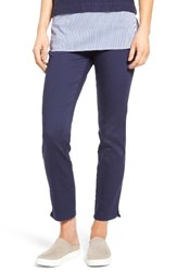 Nydj Women's Millie Pull On Stretch Ankle Jeans Republique Navy