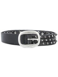Paige Studded Belt Black