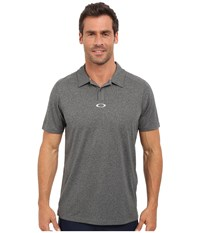 Oakley Roman Polo Black Heather Men's Short Sleeve Pullover