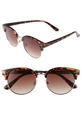 Women's Bp. 55Mm Oversize Sunglasses Brown Tort