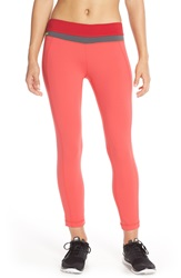 Lole 'Motion' Crop Leggings Campari