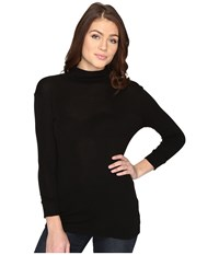 Ag Adriano Goldschmied Noah Turtleneck Ture Black Women's Clothing Gray
