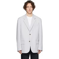 Joseph Grey Wool David Blazer