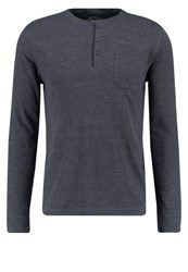 Burton Menswear London Long Sleeved Top Blu Blue