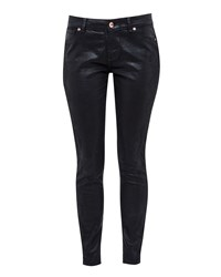 Ted Baker Renna Lace Detail Skinny Jeans Black