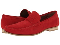 Fitzwell Kimo Red Suede Men's Flat Shoes