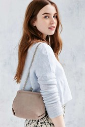 Kimchi And Blue Kimchi Blue Suede Kiss Lock Bag Neutral