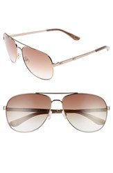 Juicy Couture Women's Shades Of 59Mm Aviator Sunglasses Brown