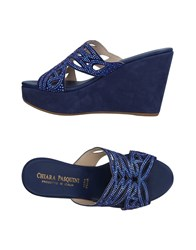 Chiara Pasquini Sandals Blue