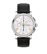 Montblanc 4810 Chronograph Automatic Watch Silver
