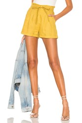 Heartloom Piper Short Yellow