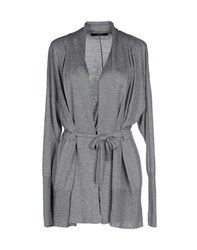 Alpha Massimo Rebecchi Knitwear Cardigans Women Light Grey