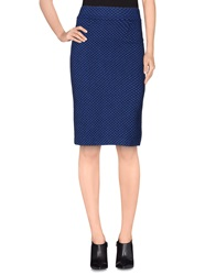 Imperial Star Imperial Knee Length Skirts Blue