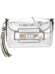Proenza Schouler Metallic Ps11 Mini Soft Classic Silver