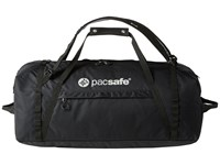 Pacsafe Duffelsafe At100 Anti Theft Adventure Duffel Black Duffel Bags